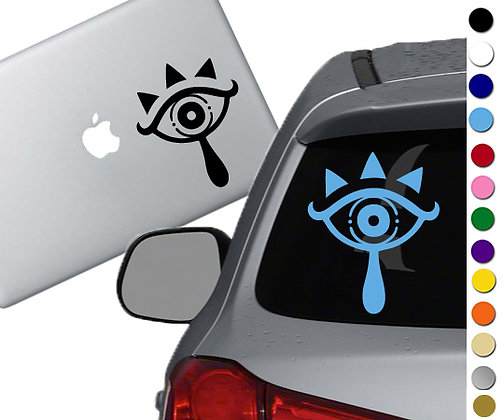 Legend of Zelda - Sheikah - Vinyl Decal Sticker - For cars, laptops and more!