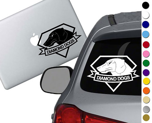 Metal Gear Solid - Diamond Dogs - Vinyl Decal Sticker - For cars, and more!