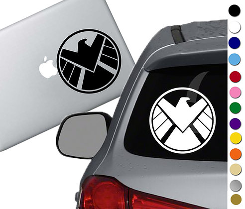 Avengers Shield Logo - Vinyl Decal Sticker - For cars, laptops, and more!
