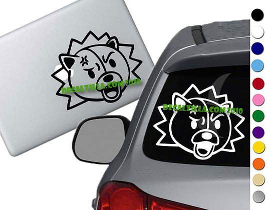 Bleach - Kon - Vinyl Decal Sticker - For cars, laptops and more!