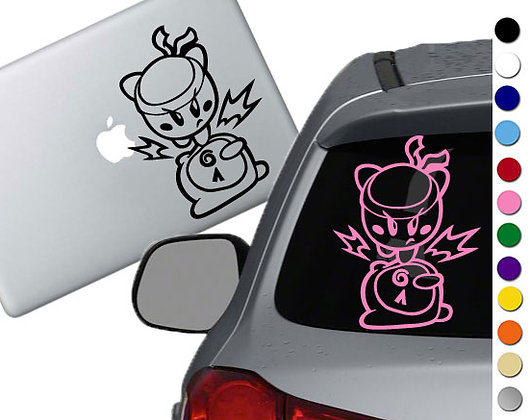 Kirby Stomp - Vinyl Decal Sticker - For cars, laptops and more!