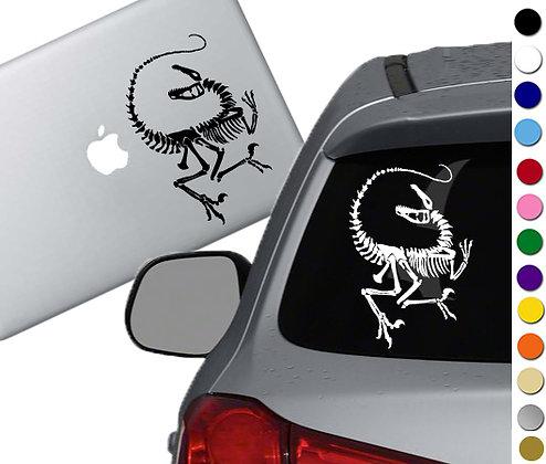 Velociraptor Skeleton - Vinyl Decal Sticker - For cars, laptops, and more!