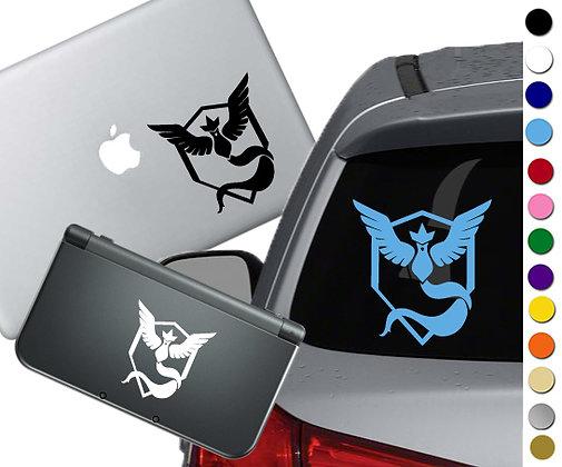 "Sale! 1.5"" Pokemon Go Mystic -Mini Vinyl Decal Sticker For laptops and more!"