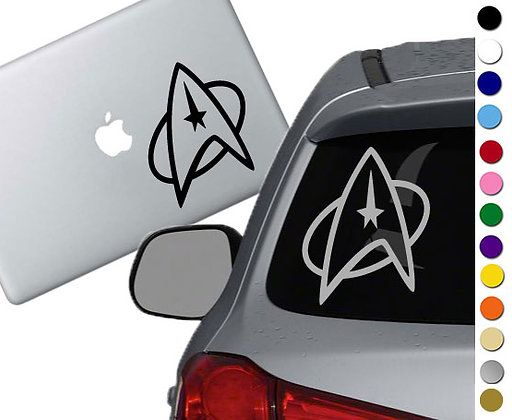 Star Trek - Starfleet Emblem - Vinyl Decal Sticker - For cars, laptops and more!
