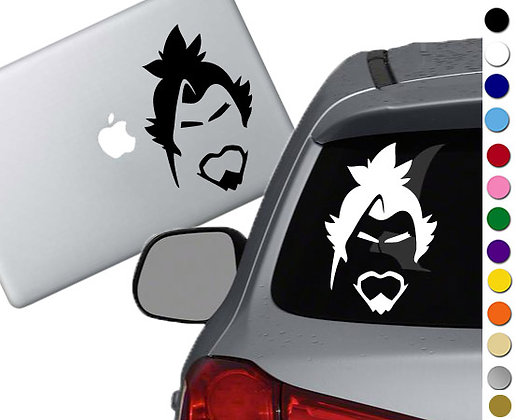 Overwatch - Hanzo - Vinyl Decal Sticker - For cars, laptops and more!