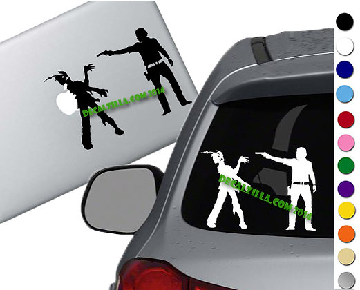 The Walking Dead - Rick - Vinyl Decal Sticker - For cars, laptops and more!