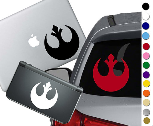 Star Wars Rebel- Vinyl Decal Sticker For cars, laptops, and more!
