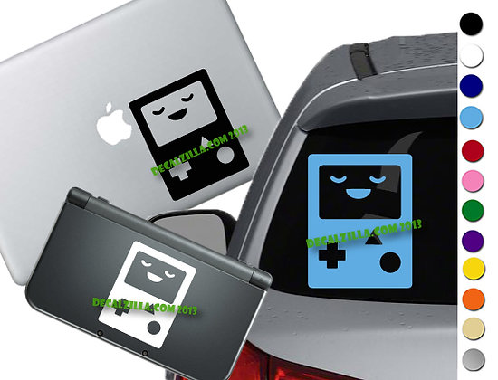 "Sale! 1.5"" BMO  -Mini Vinyl Decal Sticker For laptops and more!"