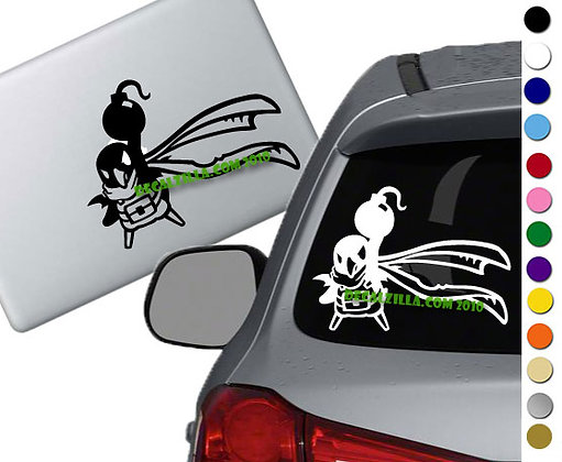 Disgaea - Prinny Bomb - Vinyl Decal Sticker - For cars, laptops and more!