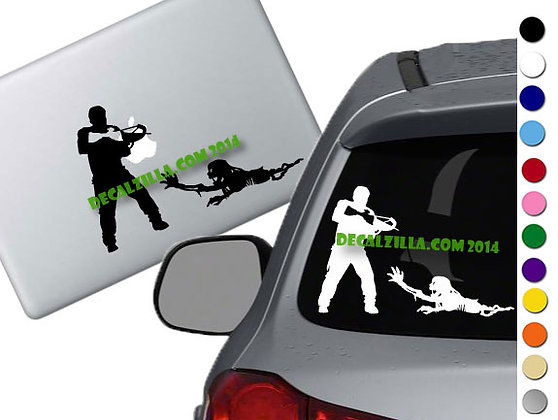 The Walking Dead - Daryl - Vinyl Decal Sticker - For cars, laptops and more!