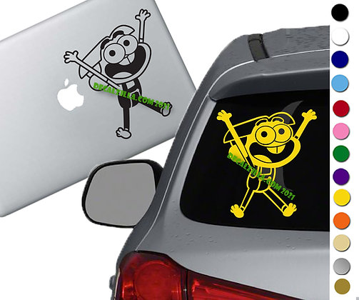 Big City Green - Cricket - Vinyl Decal Sticker - For cars, laptops and more!