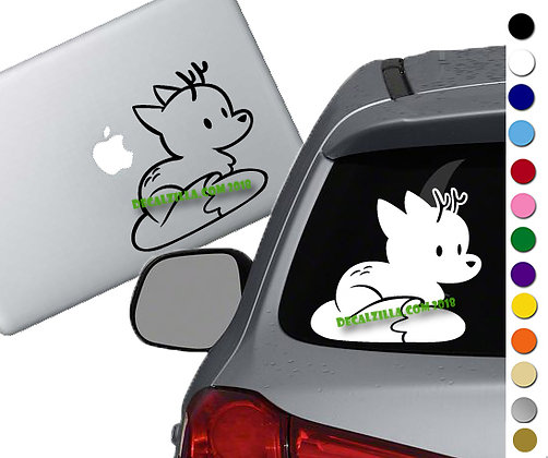 Hilda- Twig - Vinyl Decal Sticker - For cars, laptops and more!