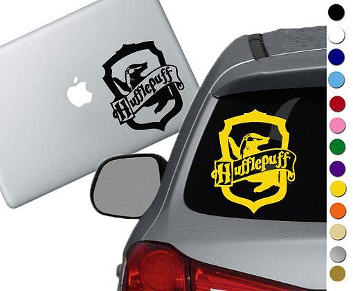 Harry Potter- Hufflepuff Emblem- Vinyl Decal Sticker - For car, laptops, more!