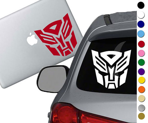 Transformers - Autobots - Vinyl Decal Sticker - For cars, laptops, and more!
