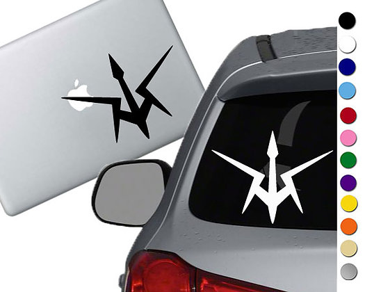 Code Geass- Black Knights - Vinyl Decal Sticker - For cars, laptops and more!