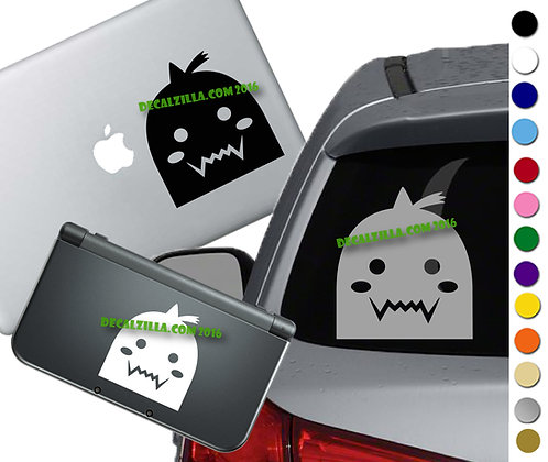Anime Brother Armor- Vinyl Decal Sticker For cars, laptops, and more!