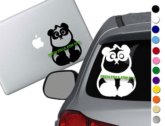 Panda - Vinyl Decal Sticker - For cars, laptops, and more!