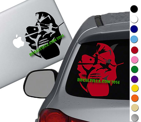 Anime Attack Soldier Giant - Vinyl Decal Sticker - For cars, laptops and more!