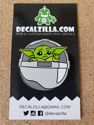 The Mandalorian - Grogu - Hard Enamel Pin For Clothes, Backpacks and more!
