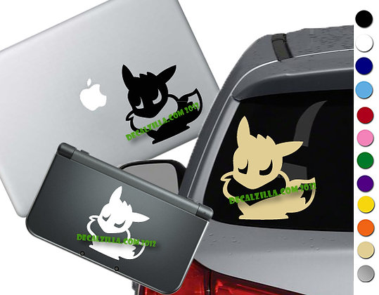 "Sale! 1.5"" Pokemon Eevee -Mini Vinyl Decal Sticker For laptops and more!"