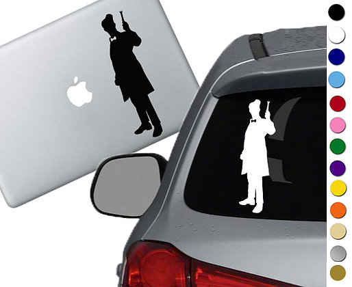 Dr. Who - 11th Doctor - Vinyl Decal Sticker - For cars, laptops and more!