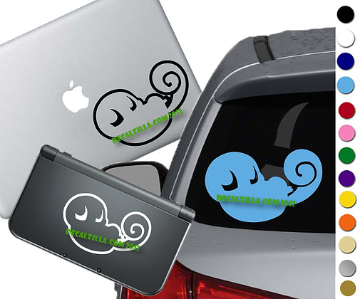 Pokemon - Squritle - Vinyl Decal Sticker For cars, laptops, and more!