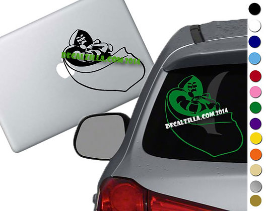 Fantastic 4 - Dr. Doom - Vinyl Decal Sticker - For cars, laptops, and more!