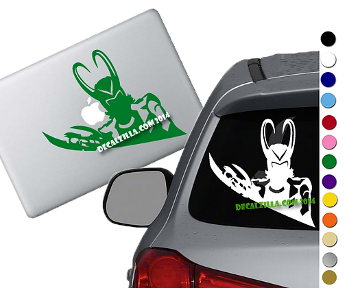 Loki - Vinyl Decal Sticker - For cars, laptops, and more!