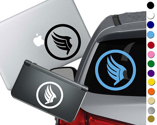 """Sale! 1.5"""" Mass Effect Paragon -Mini Vinyl Decal Sticker For laptops and more!"""