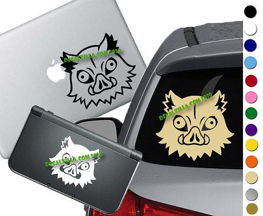 Demon Slayer Inosuke - Vinyl Decal Sticker For cars, laptops, and more!