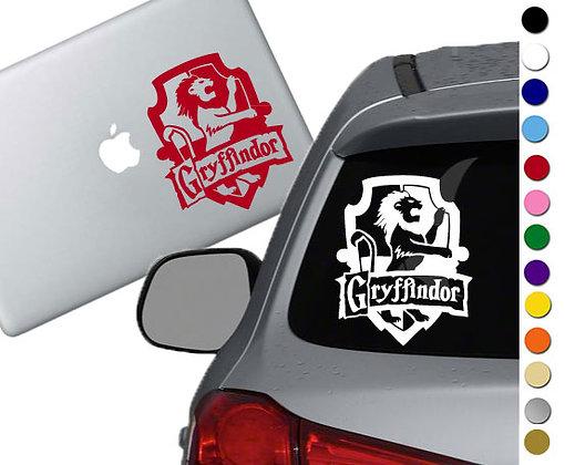 Harry Potter- Gryffindor Emblem- Vinyl Decal Sticker - For car, laptops and more