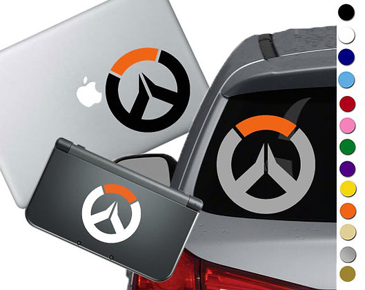 Overwatch - Vinyl Decal Sticker For cars, laptops, and more!