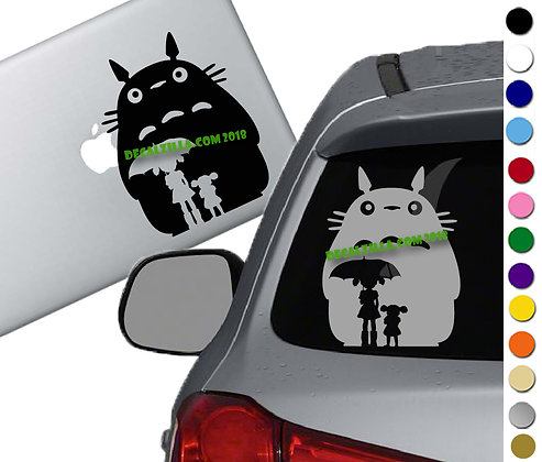 My Neighbor Totoro- Satsuki - Vinyl Decal Sticker - For cars, laptops, and more!