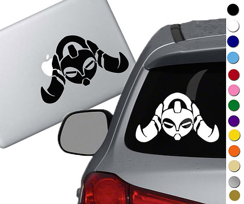 Overwatch - Orisa - Vinyl Decal Sticker - For cars, laptops, and more!