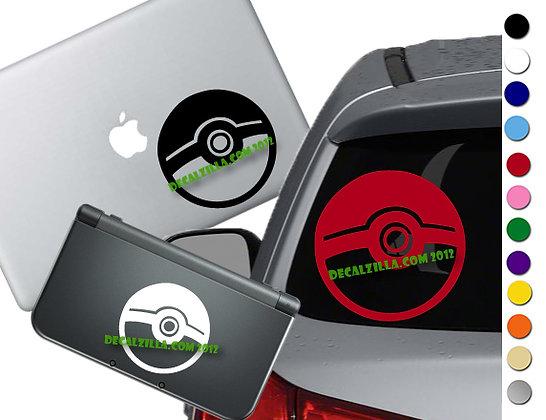 Pokemon - Pokeball - Vinyl Decal Sticker For cars, laptops, and more!