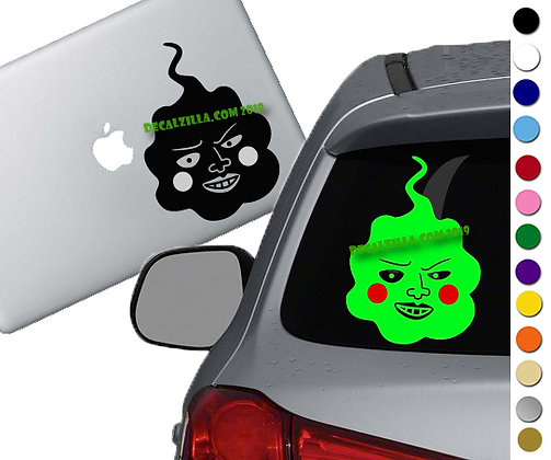 Mob Psycho 100- Dimple - Vinyl Decal Sticker - For cars, laptops, and more!