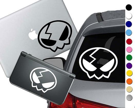 Gurren Lagann Yoko Pin - Vinyl Decal Sticker For cars, laptops, and more!