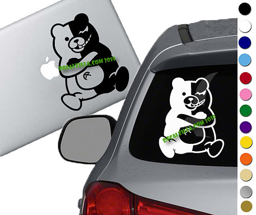 Danganronpa - Monokuma - Vinyl Decal Sticker - For cars, laptops and more!