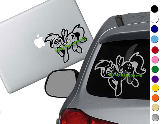 My Little Pony - Derpy Hooves - Vinyl Decal Sticker - For cars and more!
