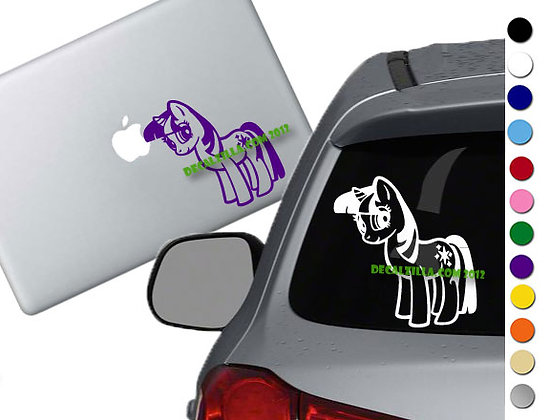 Sale! MLP Twilight Sparkle -Vinyl Decal Sticker For cars, laptops, and more!