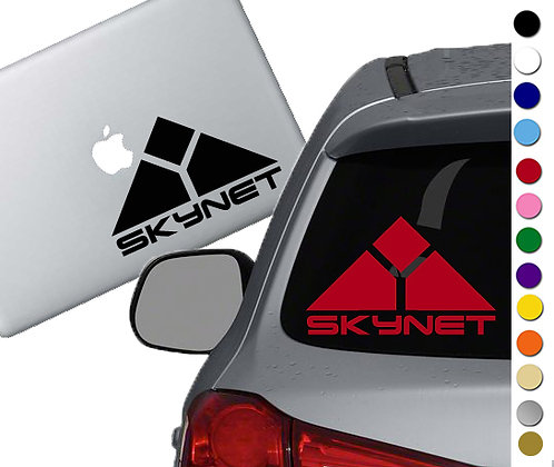 Terminator - Skynet - Vinyl Decal Sticker - For cars, laptops and more!
