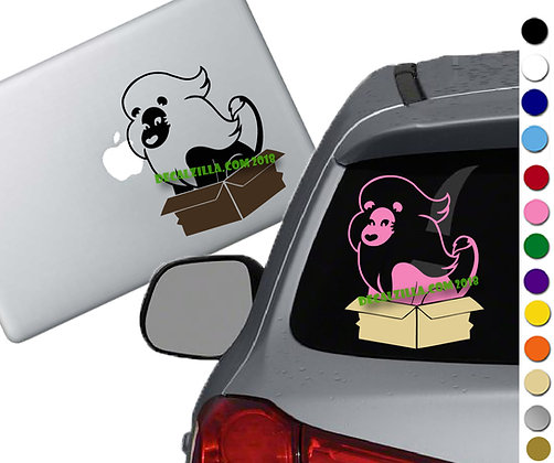 Steven Universe - Lion Box - Vinyl Decal Sticker - For cars, laptops, and more!