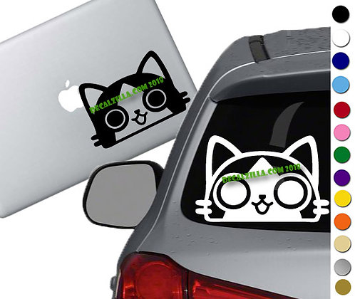 Monster Hunter- Palico - Vinyl Decal Sticker - For cars, laptops, and more!