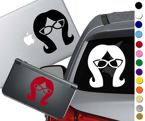 Bob's Burgers - Linda - Vinyl Decal Sticker For cars, laptops, and more