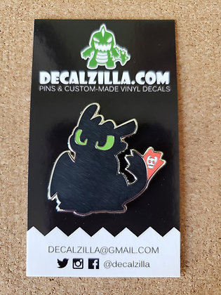 How to Train your Dragon- Toothless Hard Enamel Pin For Clothes, Backpacks