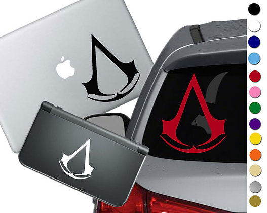 Assassin's Creed - Vinyl Decal Sticker For cars, laptops, and more!