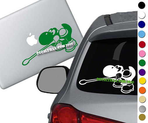 Yoshi - Vinyl Decal Sticker - For cars, laptops, and more!