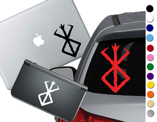Berserk - Blood Symbol - Vinyl Decal Sticker For cars, laptops, and more!