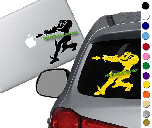Metroid - Samus - Vinyl Decal Sticker - For cars, laptops, and more!