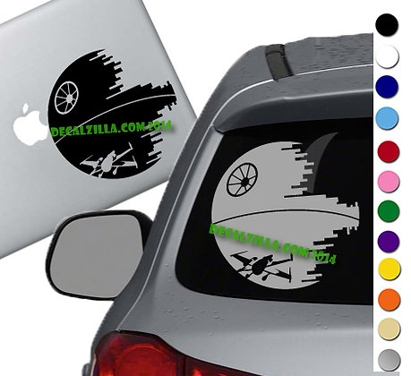 Star Wars - Deathstar - Vinyl Decal Sticker - For cars, laptops and more!